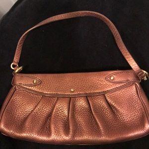 Cole Hagan copper leather small purse